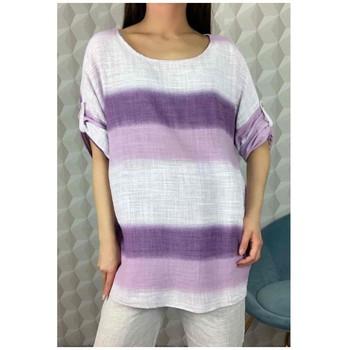 textil Dame Toppe / Bluser Fashion brands 156485V-LILAC Lilla