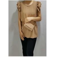 textil Dame Toppe / Bluser Fashion brands 3101-CAMEL Kamel