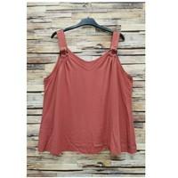 textil Dame Toppe / Bluser Fashion brands 3841-RASPBERRY Pink