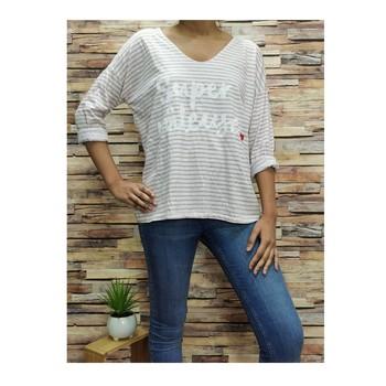 textil Dame Toppe / Bluser Fashion brands 21052-PINK Pink