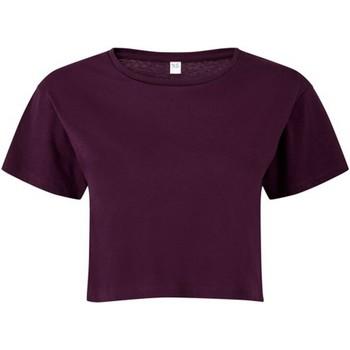 textil Dame Toppe / Bluser Tridri TR019 Mulberry