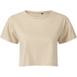 textil Dame Toppe / Bluser Tridri TR019 Nude