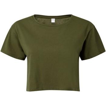 textil Dame Toppe / Bluser Tridri TR019 Olive