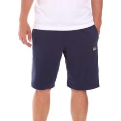 textil Herre Shorts Ea7 Emporio Armani 3KPS81 PJ05Z Blå