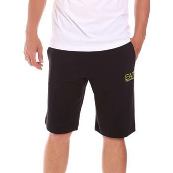 textil Herre Shorts Ea7 Emporio Armani 3KPS59 PJ05Z Sort