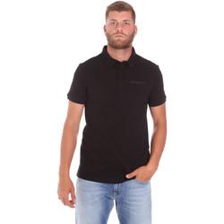 textil Herre Polo-t-shirts m. korte ærmer Trussardi 52T00488-1T003603 Sort
