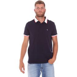 textil Herre Polo-t-shirts m. korte ærmer Trussardi 52T00491-1T003600 Blå