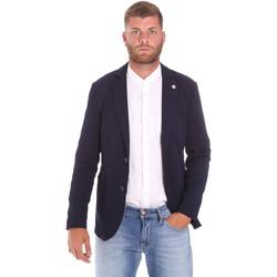 textil Herre Jakker Sseinse GAE716SS Blå