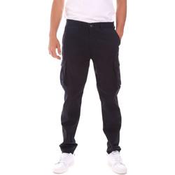 textil Herre Cargo bukser Lumberjack CM80747 007EU Blå