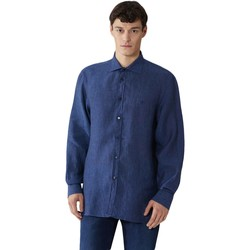textil Herre Skjorter m. lange ærmer Trussardi 52C00212-1T002248 Blå