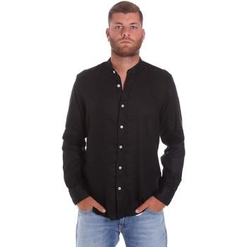 textil Herre Skjorter m. lange ærmer Refrigiwear RM0C10100LI9110 Sort
