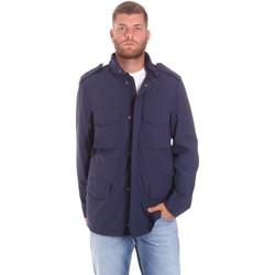 textil Herre Parkaer Lumberjack CM68821 002EU Blå