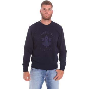 textil Herre Sweatshirts Lumberjack CM60142 016EU Blå
