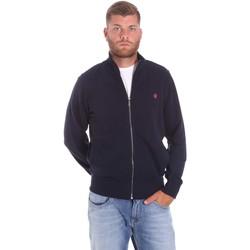 textil Herre Veste / Cardigans Lumberjack CM60142 018EU Blå