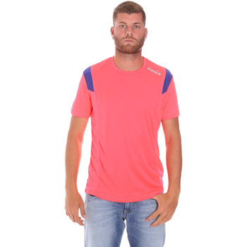 textil Herre T-shirts m. korte ærmer Diadora 102175719 Lyserød