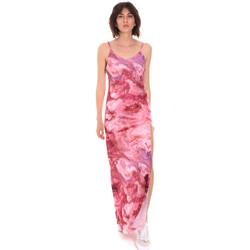 textil Dame Lange kjoler Me Fui M20-0958X1 Lyserød