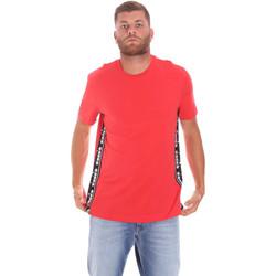 textil Herre T-shirts m. korte ærmer Diadora 502176631 Rød