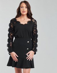 textil Dame Toppe / Bluser Moony Mood PABSCONE Sort