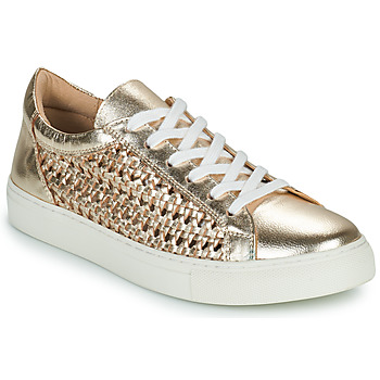 Sko Dame Lave sneakers Cosmo Paris WELLY Guld