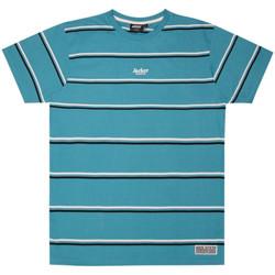textil Herre T-shirts m. korte ærmer Jacker Poh stripes Blå
