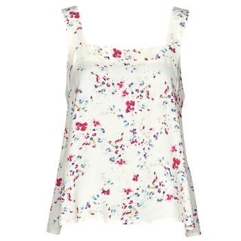 textil Dame Toppe / Bluser Vero Moda VMMILA Beige