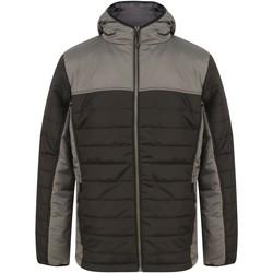 textil Dynejakker Finden & Hales LV660 Black/Gunmetal Grey