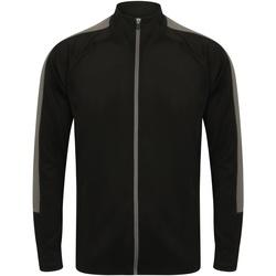 textil Dame Sportsjakker Finden & Hales  Black/Gunmetal Grey