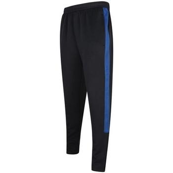 textil Herre Træningsbukser Finden & Hales LV881 Navy/Royal Blue