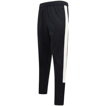 textil Herre Træningsbukser Finden & Hales LV881 Navy/White