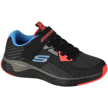 Sko Børn Lave sneakers Skechers Solar Fuse Speed Blitz Grå