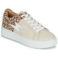 Sko Dame Lave sneakers Vanessa Wu VENDAVEL Beige / Leopard