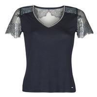 textil Dame T-shirts m. korte ærmer Morgan DEXIA Marineblå