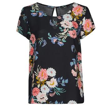 textil Dame Toppe / Bluser Only ONLMADONNA Flerfarvet