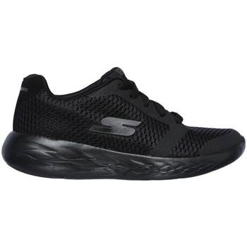 Sko Børn Lave sneakers Skechers GO Run 600 Zeeton Sort