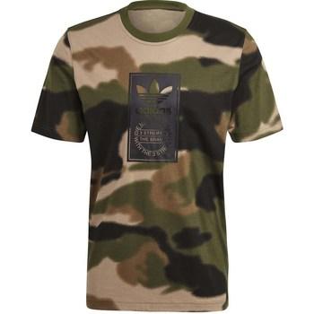 T-shirts m. korte ærmer adidas  Camo Aop Tongue
