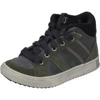 Sko Dreng Høje sneakers California Xboys BH483 Grøn
