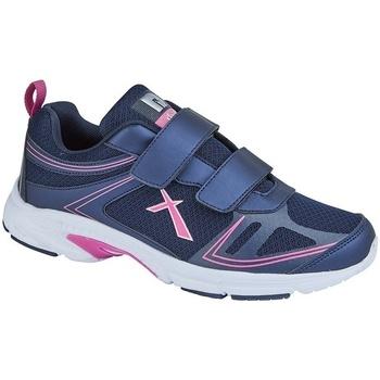 Sko Dame Lave sneakers Dek  Navy/Fuchsia