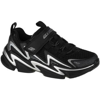Sko Børn Lave sneakers Skechers Wavetronic Sort