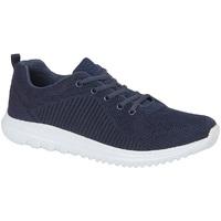 Sko Lave sneakers Dek  Navy