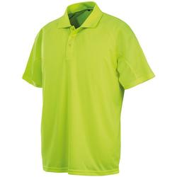 textil Herre Polo-t-shirts m. korte ærmer Spiro S288X Flo Yellow