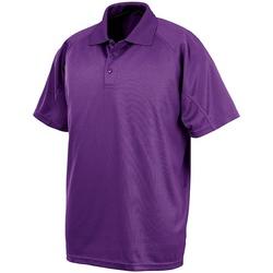 textil Herre Polo-t-shirts m. korte ærmer Spiro S288X Purple