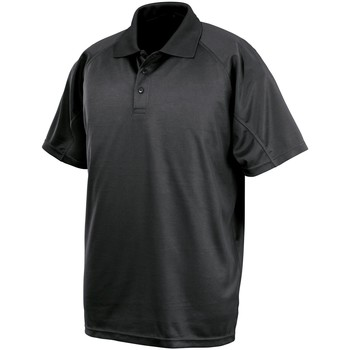 textil Herre Polo-t-shirts m. korte ærmer Spiro S288X Black