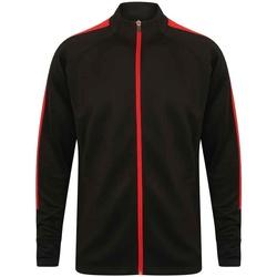 textil Herre Sportsjakker Finden & Hales LV871 Black/Red