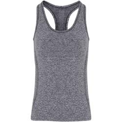 textil Dame Toppe / T-shirts uden ærmer Tridri TR209 Charcoal