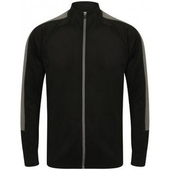 textil Dreng Sportsjakker Finden & Hales LV873 Black/Gunmetal
