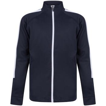 textil Dreng Sportsjakker Finden & Hales LV873 Navy/White