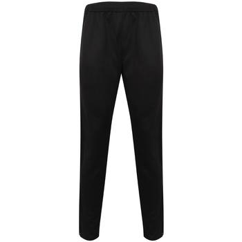 textil Herre Træningsbukser Finden & Hales LV881 Black/Black