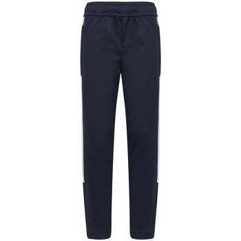 textil Dreng Træningsbukser Finden & Hales LV883 Navy/White