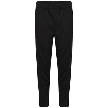 textil Dreng Træningsbukser Finden & Hales  Black/White