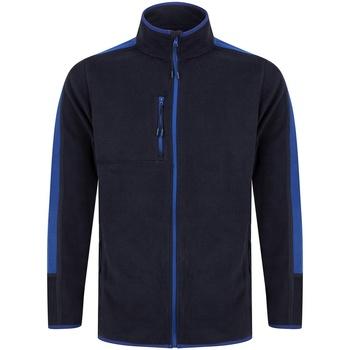 textil Fleecetrøjer Finden & Hales LV580 Navy/Royal Blue